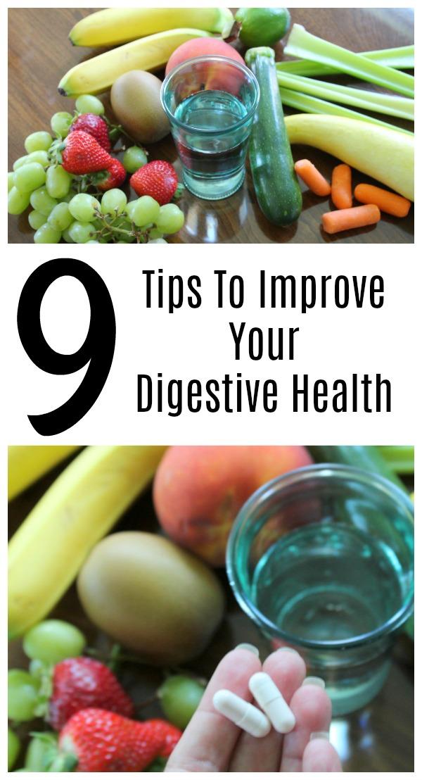 9 Tips To Improve Your Digestive Health - Food Wine Sunshine