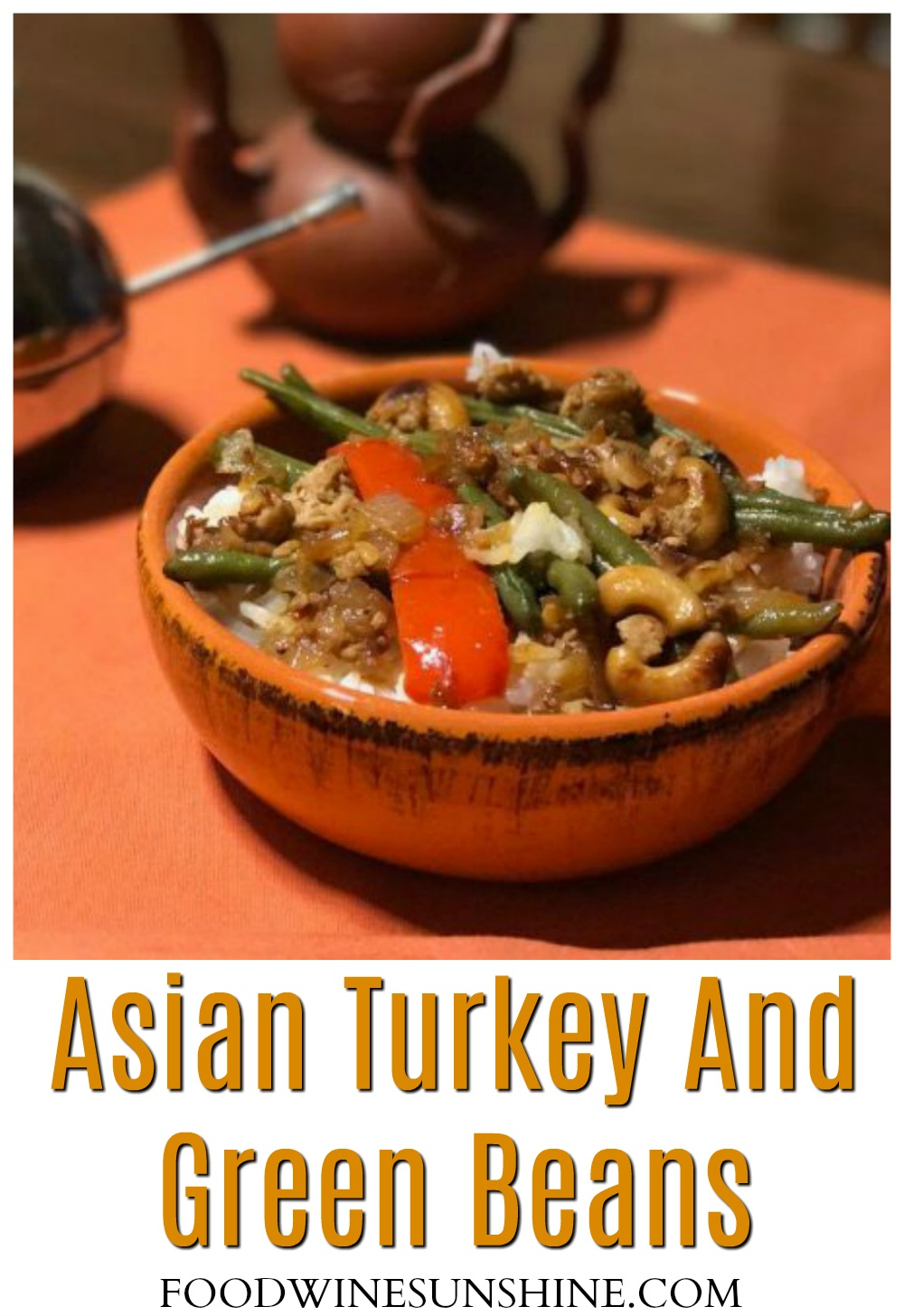 Asian Turkey And Green Beans