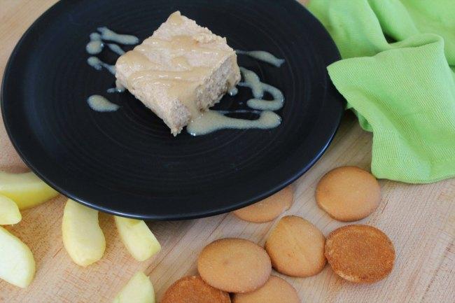 Light Caramel Apple Dessert Bars - Food Wine Sunshine