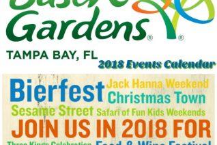 Busch Gardens Tampa Events Calendar
