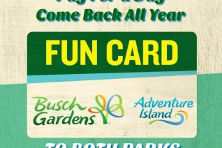 Busch Gardens Fun Card Deal