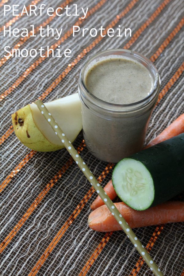 Healthy Pear Protein Smoothie