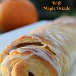 Pumpkin Roll with Maple Drizzle