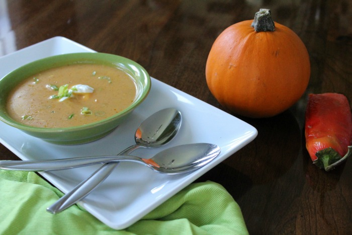 Easy Savory Pumpkin Soup