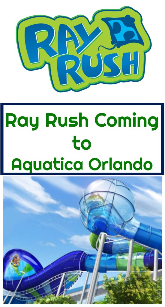 Aquatica Orlando Ray Rush Ride