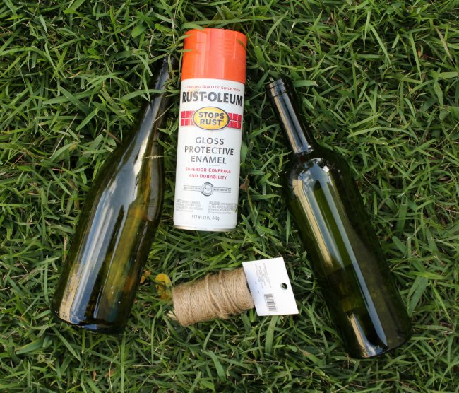 Easy DIY Wine Bottle Pumpkins