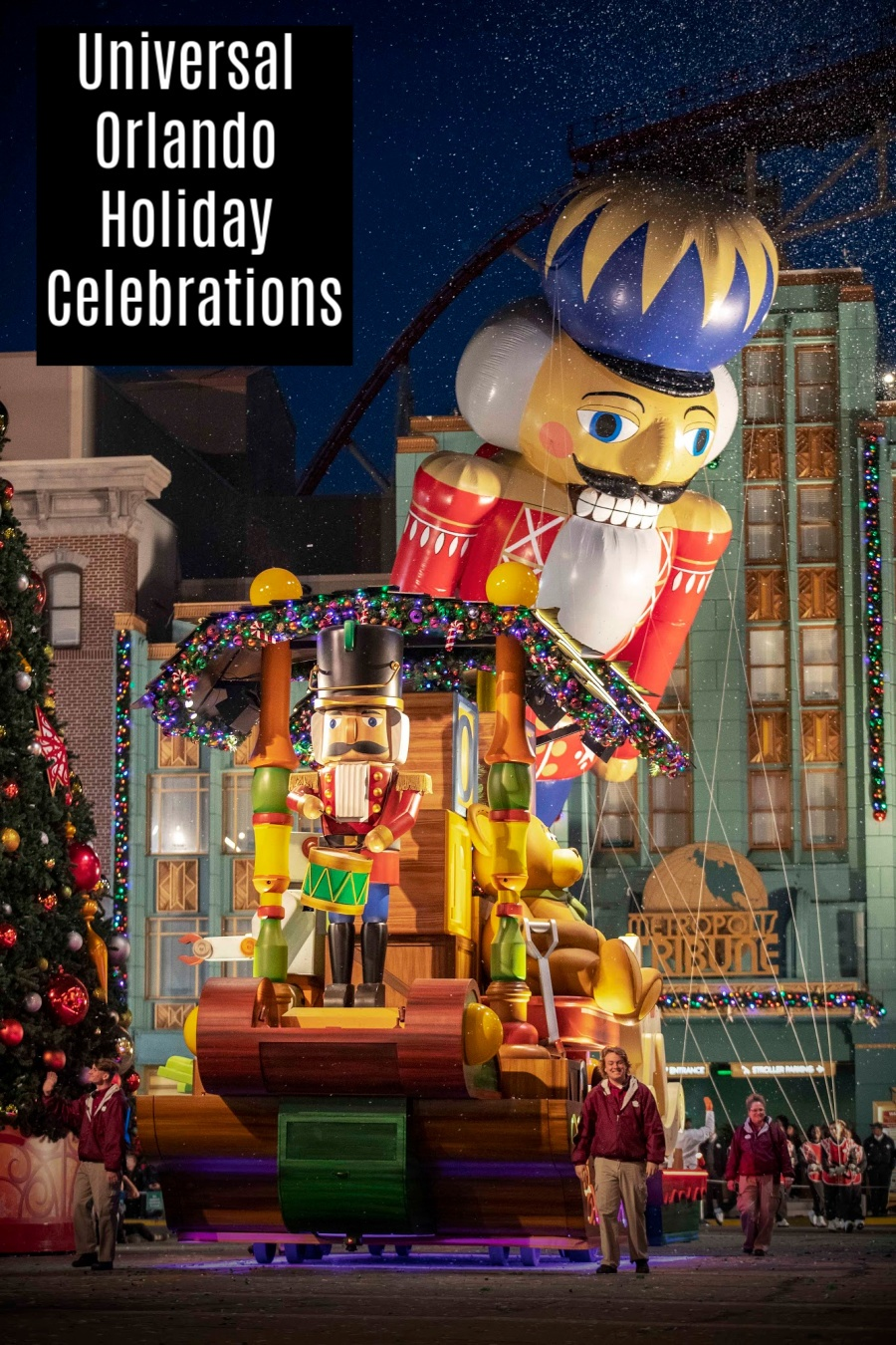 Things To Do at Universal Orlando Holiday Celebrations