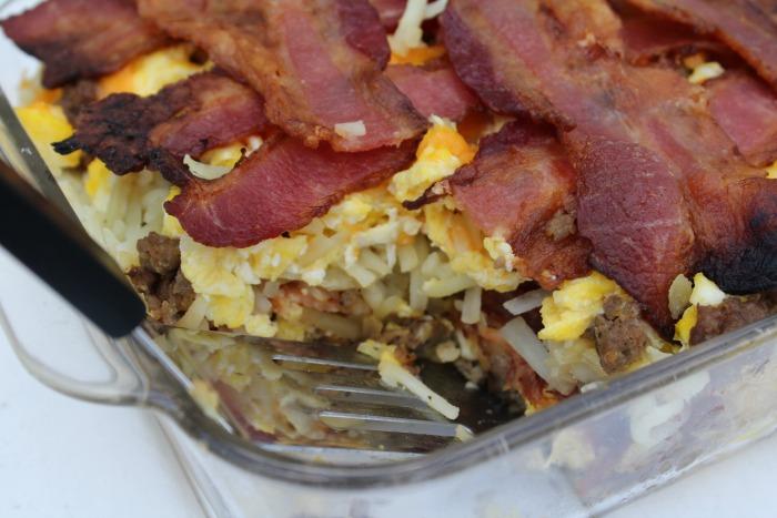 Easy Breakfast Lasagna