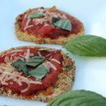 Easy & Healthy Eggplant Parmesan