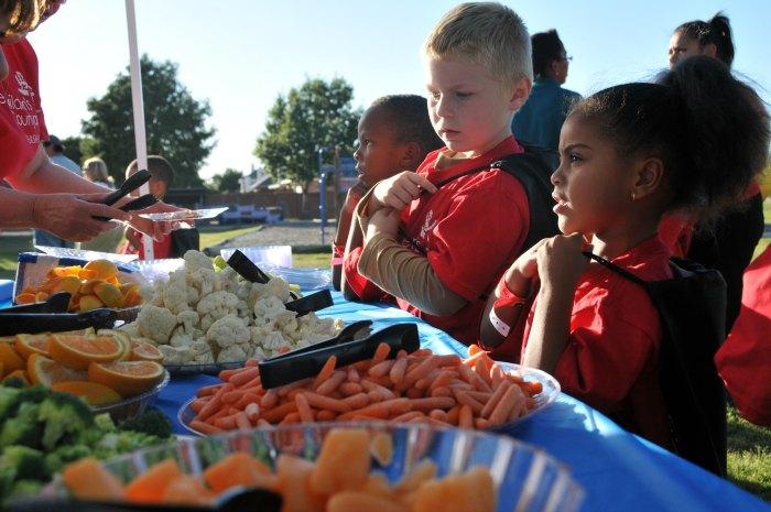 Snacks for kids at La Petite Academy