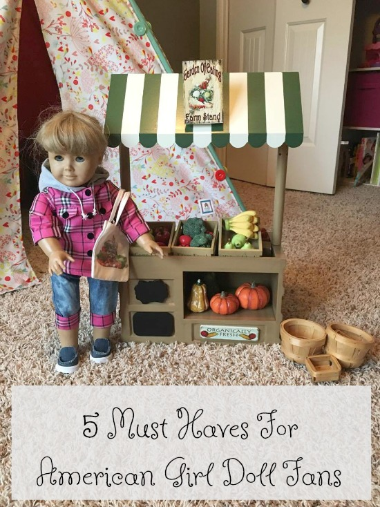 5 Must Haves For American Girl Doll Fans - Food Wine Sunshine