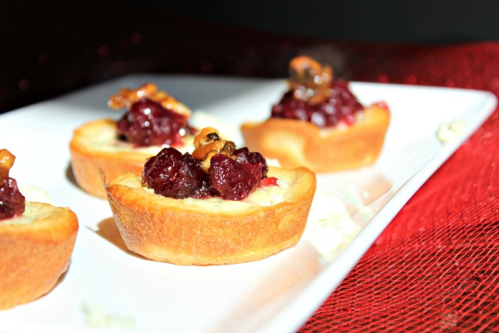 Cranberry Blue Cheese Bites Recipe on Food Wine Sunshine
