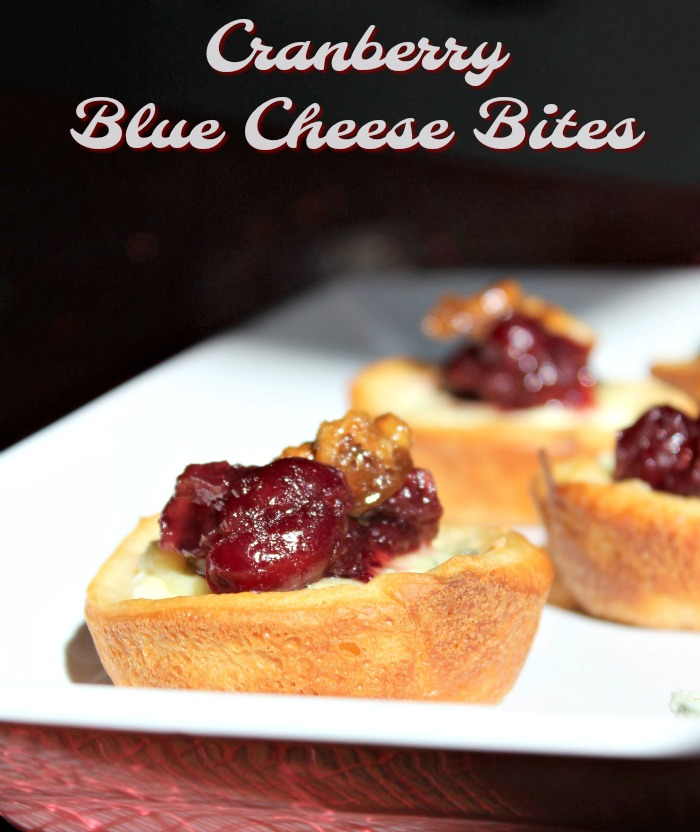 Cranberry Blue Cheese Bites - Food Wine Sunshine