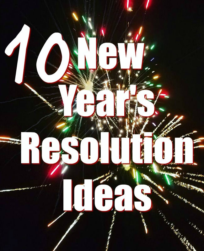 New Year's Resolutions Ideas