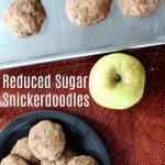 Reduced Sugar Snickerdoodles