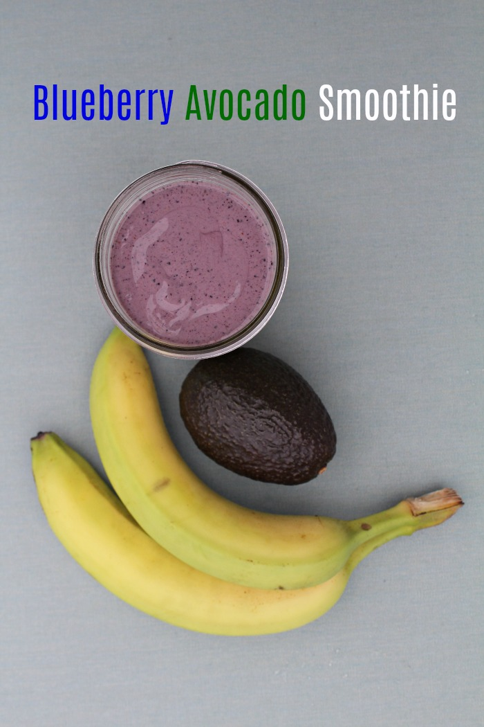 Easy Blueberry Avocado Smoothie Recipe