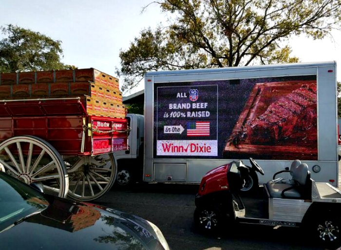Budweiser Delivered to Tampa Resident