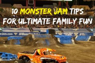 10 Monster Jam Tips For Ultimate Family Fun - Food Wine Sunshine