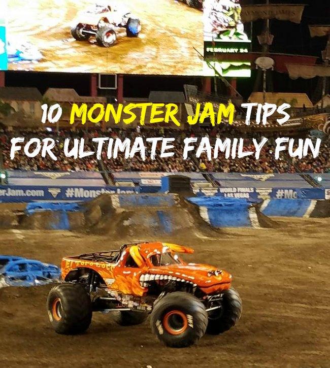 10 Monster Jam Tips For Ultimate Family Fun - Food Wine Sunshine