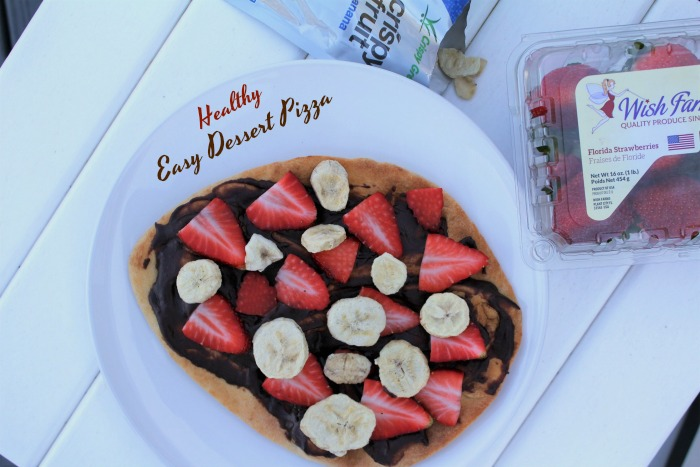 Healthy and Easy Dessert Pizza
