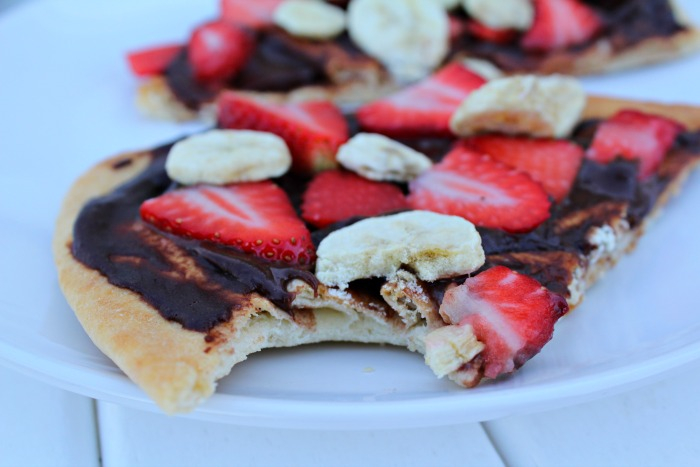 Healthy and Easy Dessert Pizza - Food Wine Sunshine