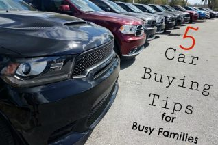 5 Car Buying Tips For Busy Families - Food Wine Sunshine