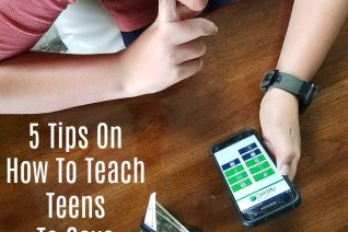 5 Tips On How To Teach Teens To Save Money | Parenting is full of lessons that we need to teach our children, and saving money for their future is a big one. These 5 Tips On How To Teach Teens To Save Money will help you and your teen on the road to financial success. Read more parenting tips, healthy recipes and traveling on a budget tips on foodwinesunshine.com | Food Wine Sunshine #teens #parenting #parenthood #saving #lifestyleblogger