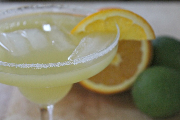 Less Calorie Margarita Cocktail