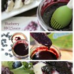Easy Blueberry BBQ Sauce