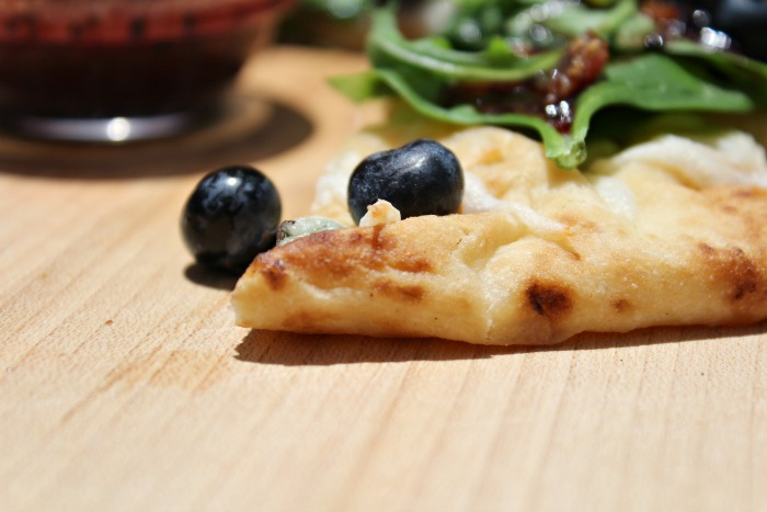 Tasty Blueberry and Bacon Pizza