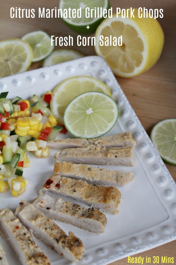 Grilled Pork Chops with Citrus Marinade