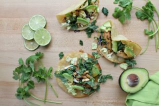 Best Asian Chicken Tacos