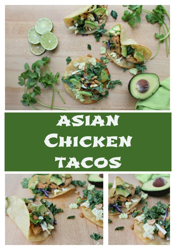 Asian Chicken Tacos