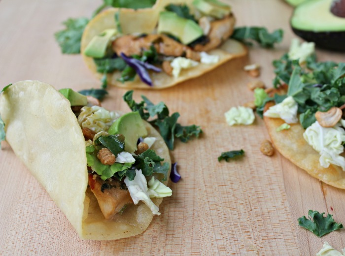 Amazing Asian Chicken Tacos