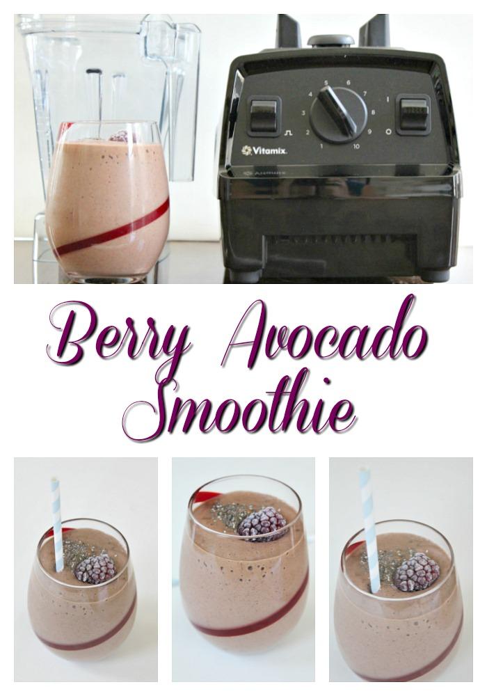 Berry Avocado Smoothie