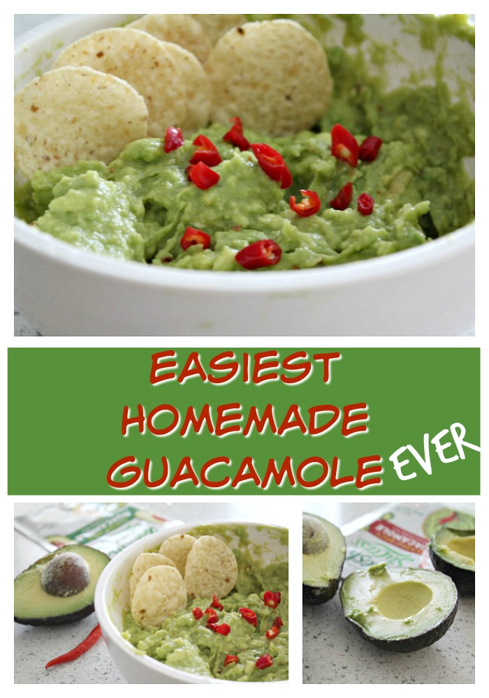 Tasty homemade Guacamole