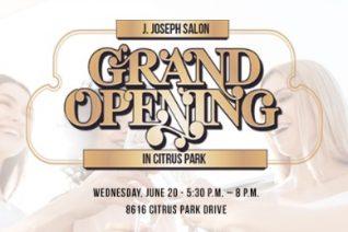 J. Joseph Salon Grand Opening
