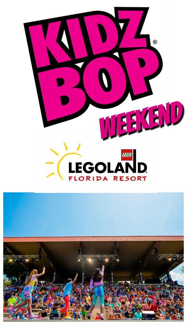 LEGOLAND Florida KIDZ Bop Concerts Info