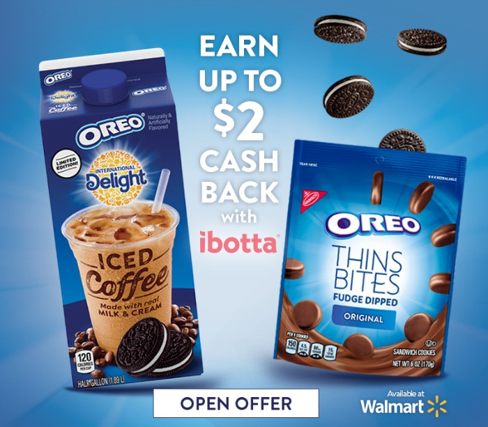 OREO and ID Iced Coffee ibotta Offer