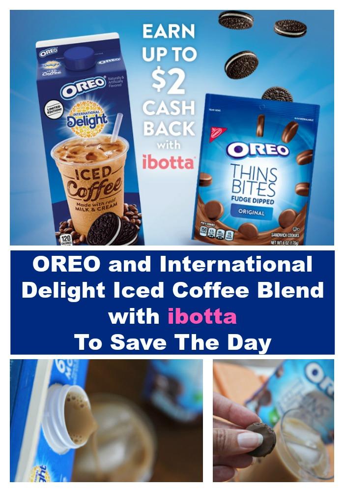 OREO International Delight Iced Coffee ibotta