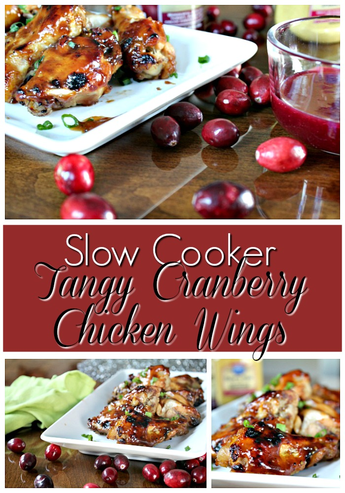 Best Cranberry Slow Cooker Chicken Wings