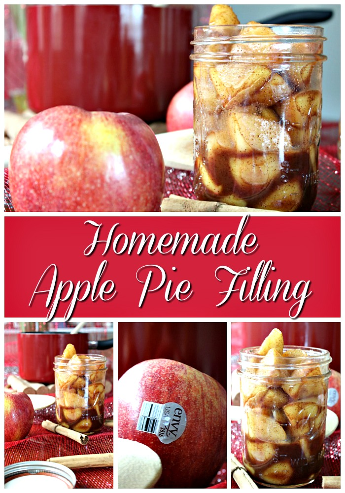 Tasty Homemade Apple Pie Filling