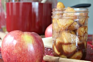 Easy Homemade Apple Pie Filling | Cinnamon Apple Topping-image
