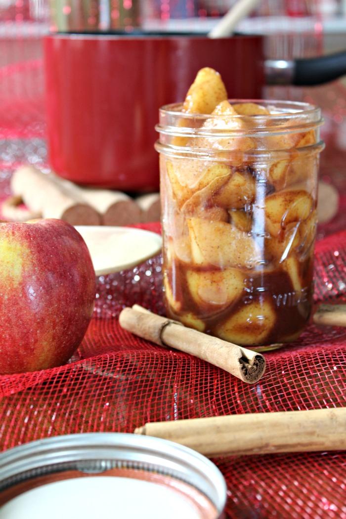 Homemade Cinnamon Apple Topping