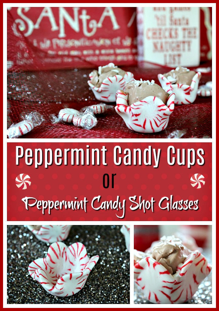 Best Peppermint Candy Shot Glasses
