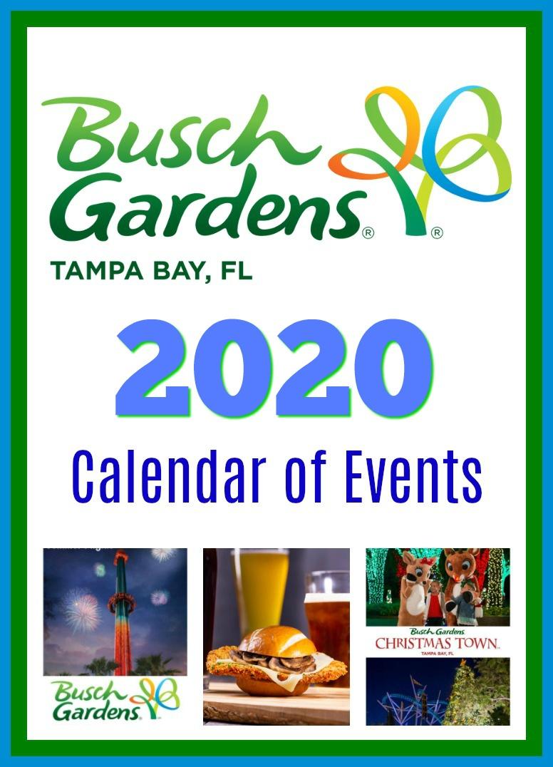 Busch Gardens Calendar Of Events