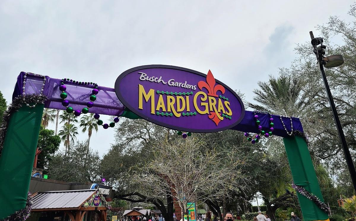 Busch Gardens Calendar Of Events Mardi Gras Celebration