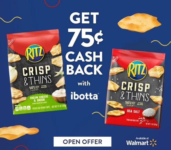 RITZ ibotta offers