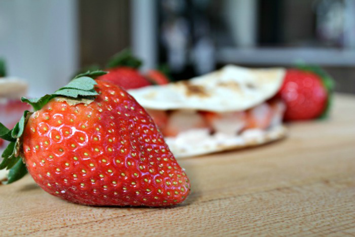 Tasty Strawberry Breakfast Tacos