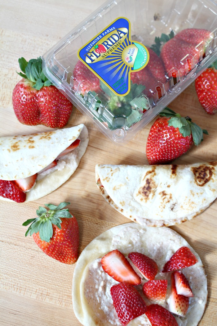 Fresh Strawberry Tacos